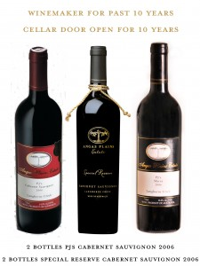 ^ wines aged in our Cellar for  your enjoyment. winemaker Peter Douglas